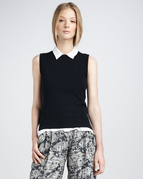 Stretch-Wool Vest