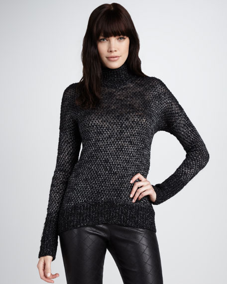 Shimmery Knit Sweater