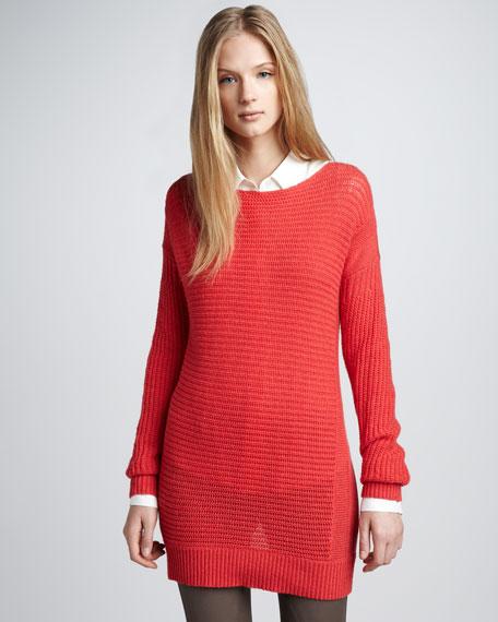 Cashmere Sweater, Geranium