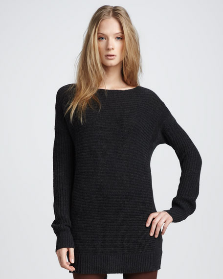 Cashmere Sweater, Charcoal
