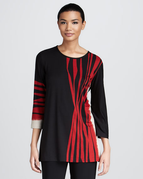 Zebra-Stripe Tunic
