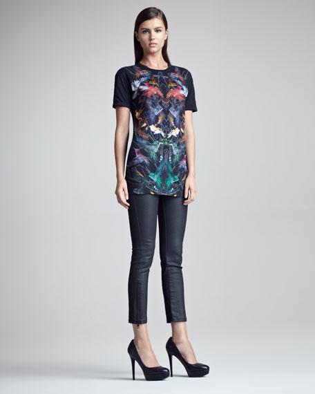 Zip-Cuff Rocker Jeans