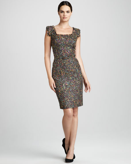 Tweed Cocktail Dress