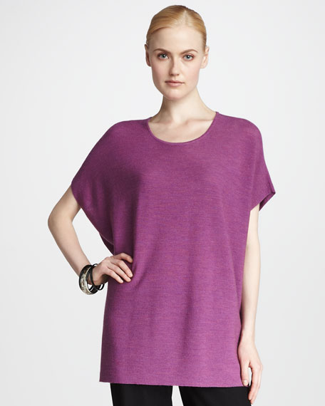 Dolman-Sleeve Tunic