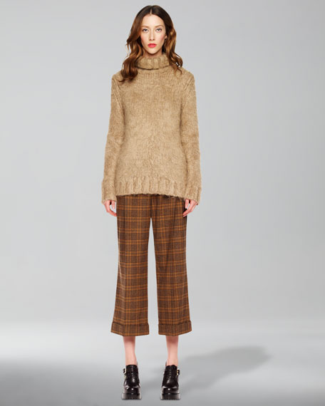 Lyndon Plaid Gaucho Pants