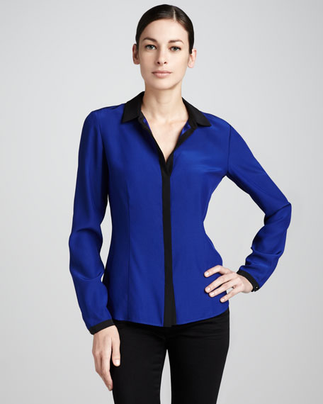 Haiden Two-Tone Blouse