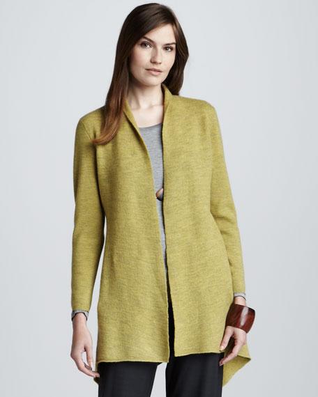 Wool Open Jacket