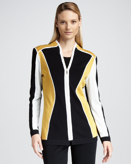 Colorblocked Jacket