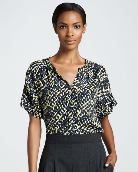 Rochelle Printed Blouse