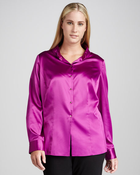 Baker Colorblock Blouse, Women's