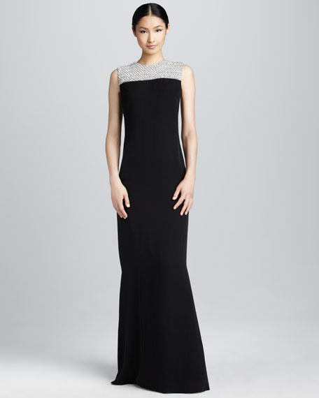 Belle Beaded Gown