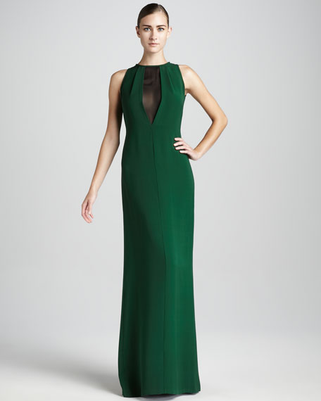 Lana V-Inset Gown