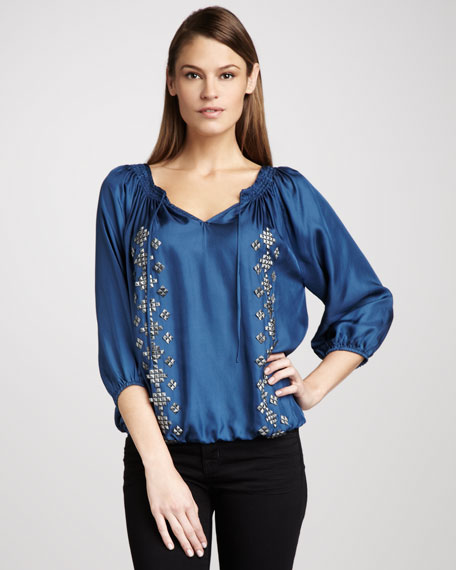 Jan Studded Blouse