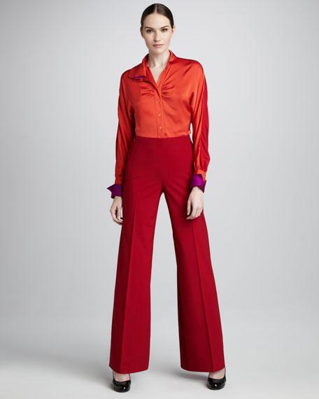 Sabrina Wide-Leg Pants