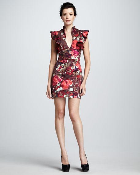 Eva Floral-Print Dress