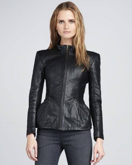 Jabari Leather Jacket