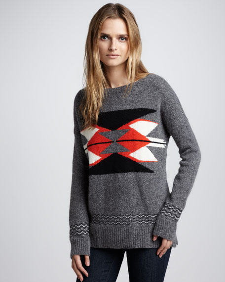 Southwest-Print Sweater