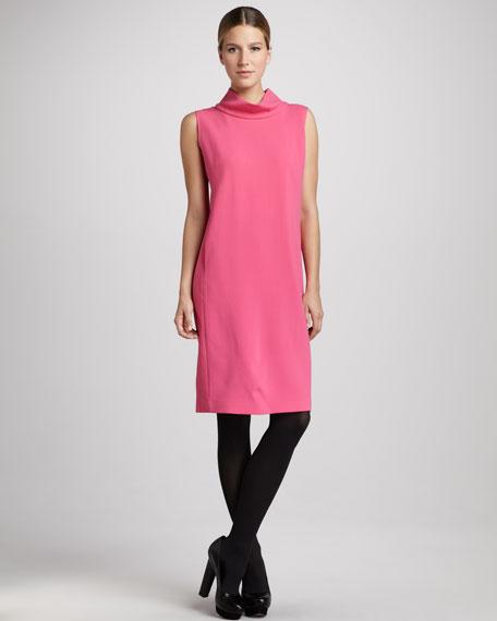Iona Cashmere Dress, Rubellite