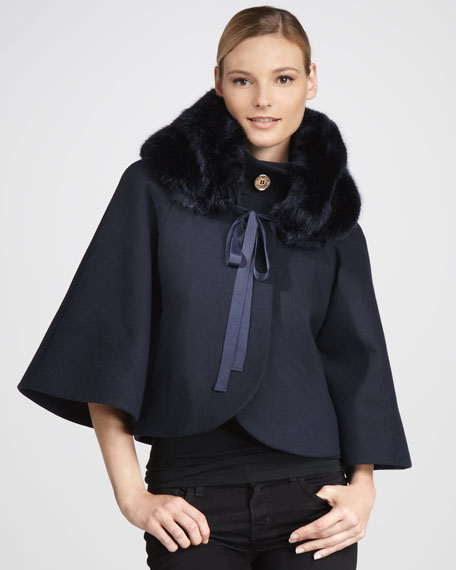 Nadja Faux Fur Coat