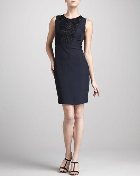 Beaded Sleeveless Dress