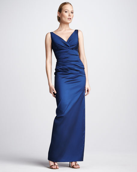 Sleeveless Cocktail Gown