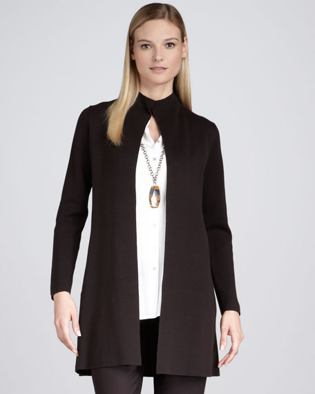 Long Stand Collar Jacket
