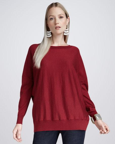 Merino Long-Sleeve Top, Petite