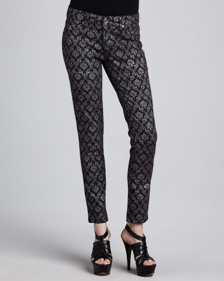 Bag Snob Essentials Emma Ornate Printed Leggings