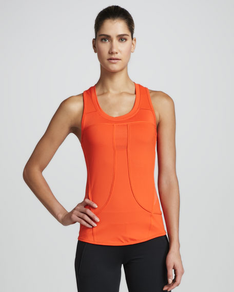 Performance Run Tank, Bolt Red