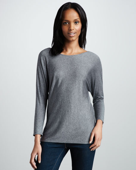 Soft Touch Batwing-Sleeve Tee