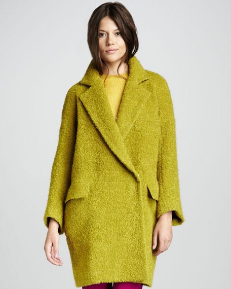 Laurel Oversized Boucle Coat