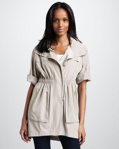 Basic Short-Sleeve Anorak