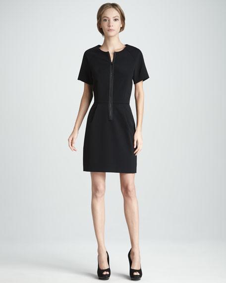 Front-Zip Tech Dress