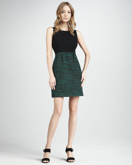 Janine Sleeveless Combo Dress