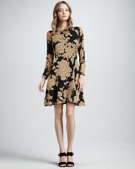 Carla Floral-Print Dress