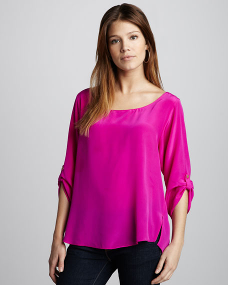 Bailey Silk Top