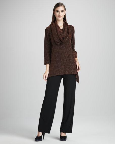 Stretch-Knit Pants, Women's