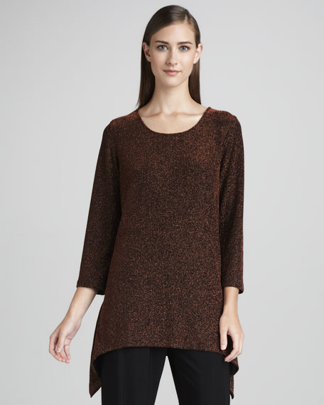 Shimmer Knit Tunic