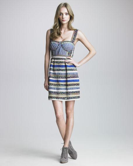 Ole Opry Patchwork Dress
