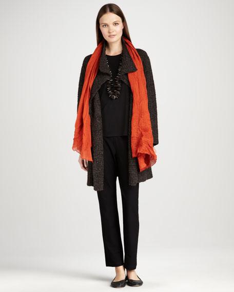 Long Eco Pebble Jacket, Women's