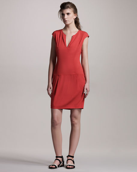 Silk Caftan Dress