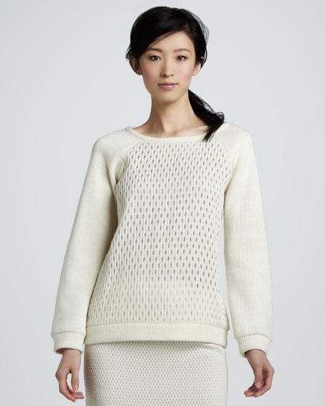 Jacquard Sweatshirt