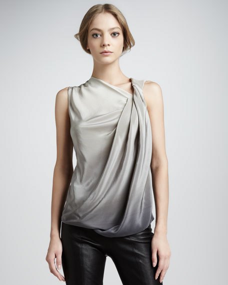 Draped Ombre Top
