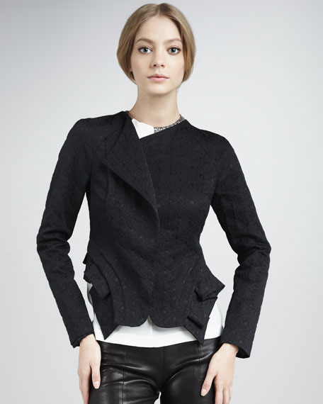 Fold-Hem Jacket