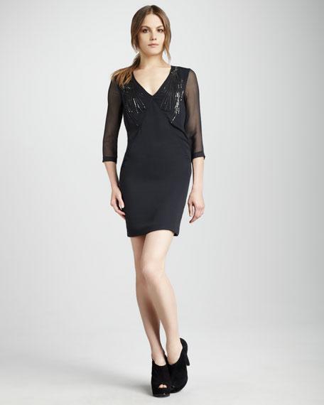 Sequin-Tassel Dress