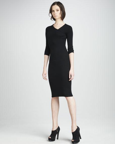 Slim Cashmere Dress