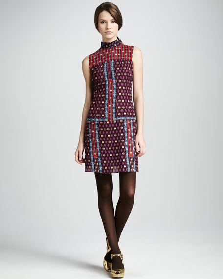 The Oracle Printed Dress