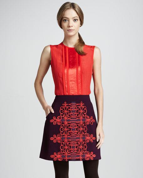 Karma Embroidered Skirt