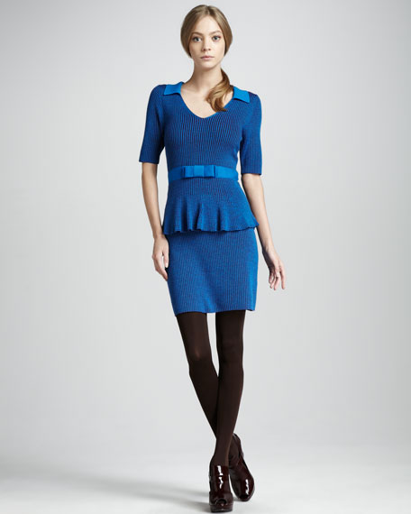 Empress Peplum Dress