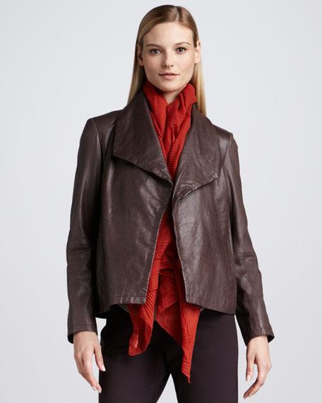 Rumpled Leather Jacket